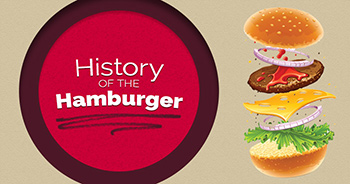 History of the Hamburger Infographic