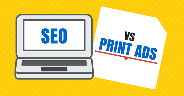 SEO vs. Print or Magazine Ads